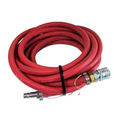 "MinuteMan [701024] 25' x 1/2"" I.D. Air Supply Hose Assembly with Anti-Static Line MM-701024"
