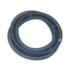 MinuteMan [804000] Bulk Clear Plastic Smooth Bore Vacuum Pickup Hose w/ Raw Ends - 1 1/2