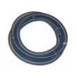 "MinuteMan [804000] Bulk Clear Plastic Smooth Bore Vacuum Pickup Hose w/ Raw Ends - 1 1/2"" Dia. - 10' Long"