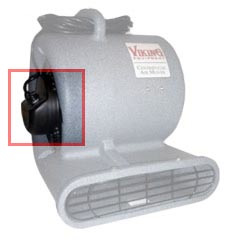 Viking [AB033002] Windstorm 2200 Air Mover Replacement Motor - 3.9 AMP