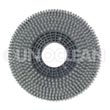 "Viper [VF80211B] Fang 18C Floor Machine General Purpose Polypropylene Scrubbing Brush - Plastic Block - 17"" Dia."