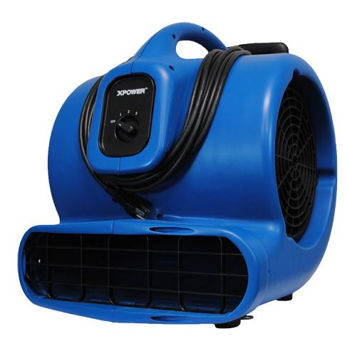 X-Power Multi-Purpose Portable Air Mover - 8.5 Amps