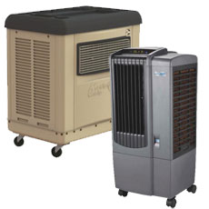 Evaporative & Mobile Spot Coolers