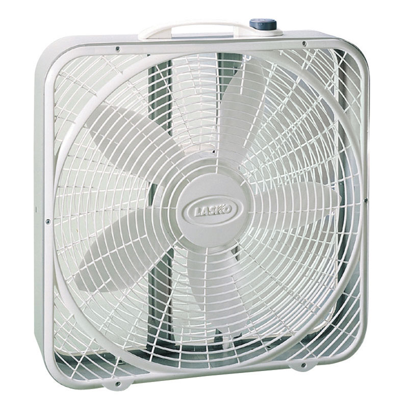 Dimension Of A Floor Fan : Lasko quot speed premium box fan air movers