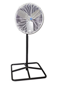 Schaefer Air Circulating Squre Pedestal Fan
