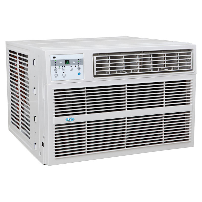 12 000 btu window ac w electric heater unoclean
