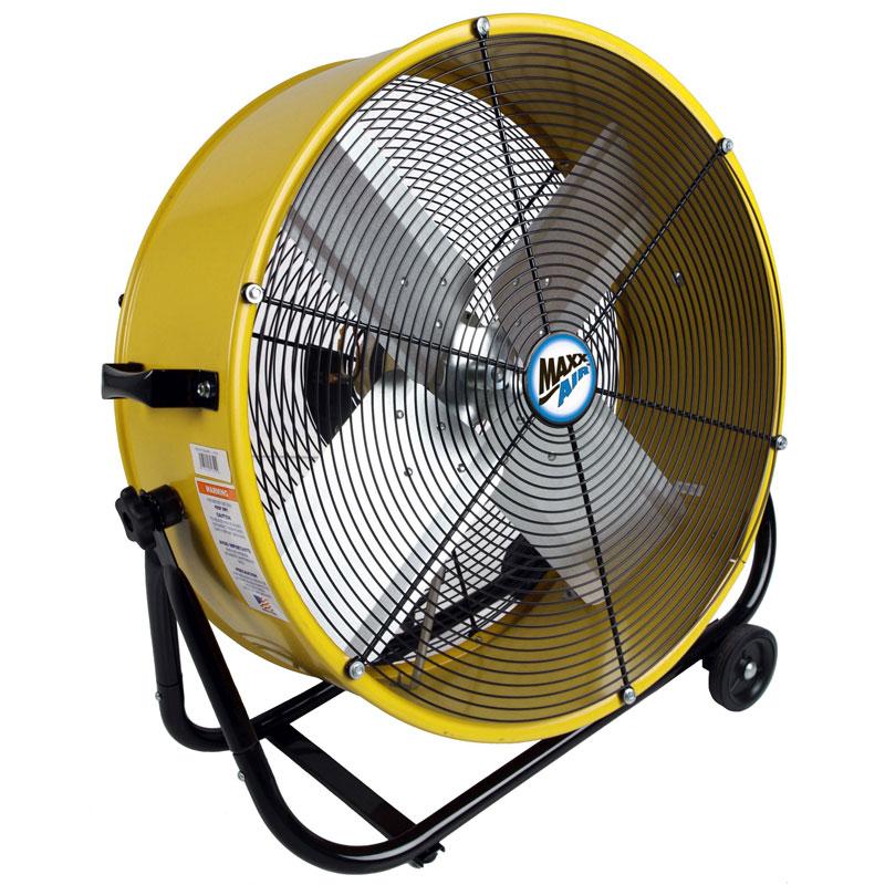 Maxx Air 24 Inch Direct Drive Barrel Tilt Fan Unoclean