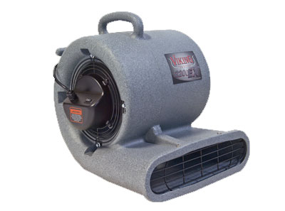 Viking 2200 EX 2-Speed 1/3 HP Air Mover w/ GFCI - 2.7 Amp