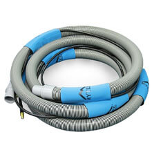 "Mytee 1-1/4"" x 15' Vacuum/Solution Hose Combo"