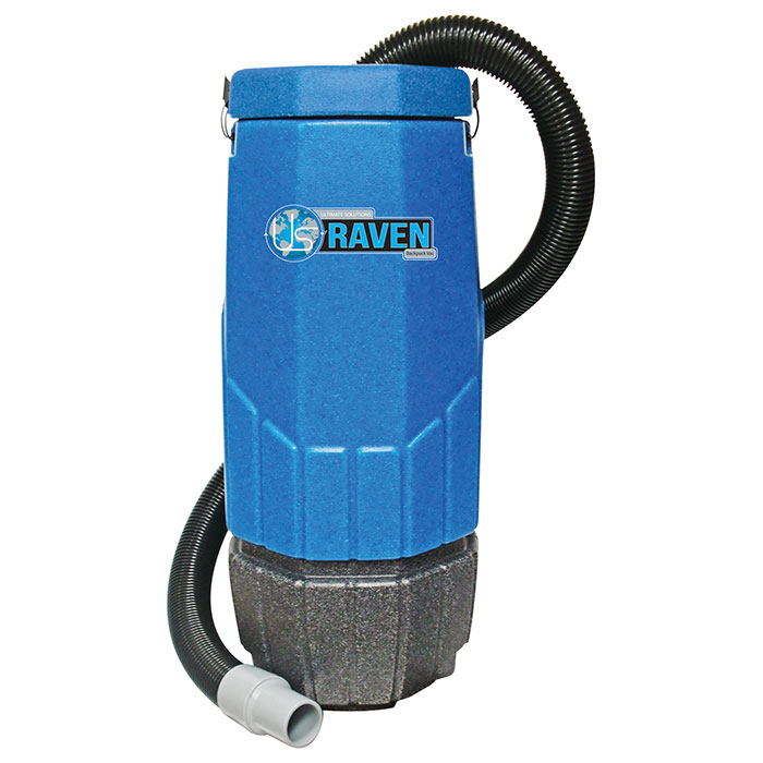 Super Raven 10-Quart Backpack Vacuum
