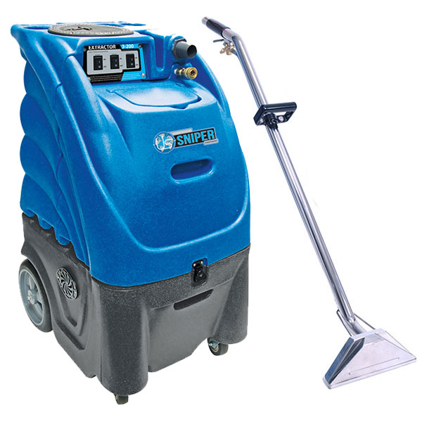 Sandia Carpet Cleaning Box Extractor 12 Gal w/ Heat