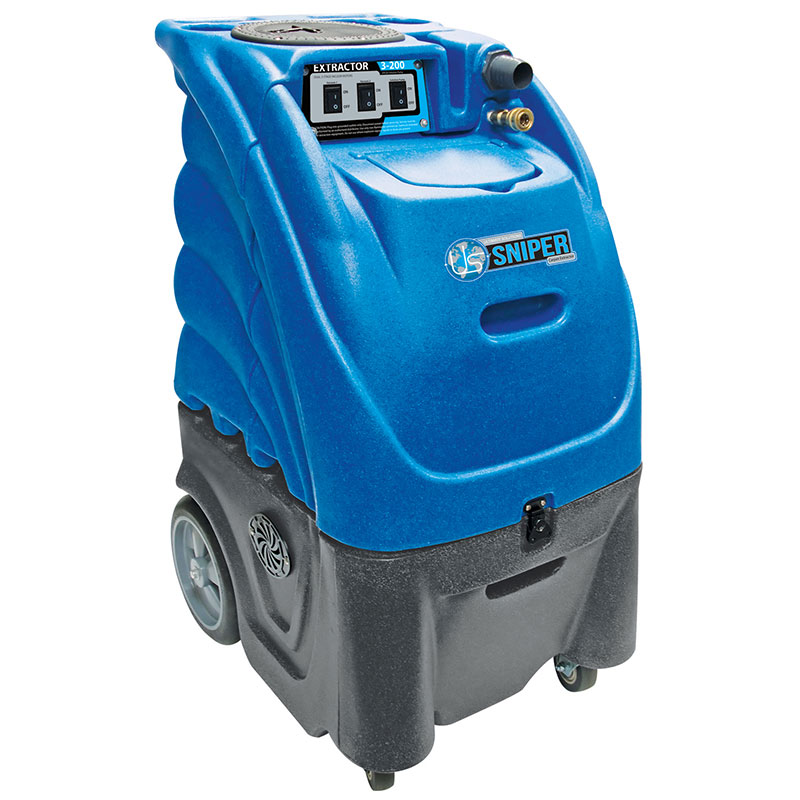 Sandia Carpet Cleaning Box Extractor 12 gal. 100 PSI w/ Heat