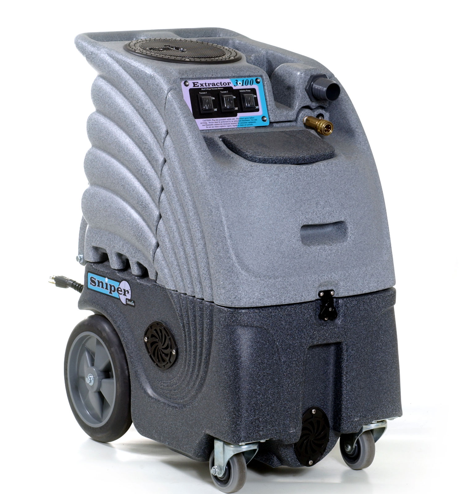Sandia Sniper 100 PSI Carpet Extractor - 6 Gallon