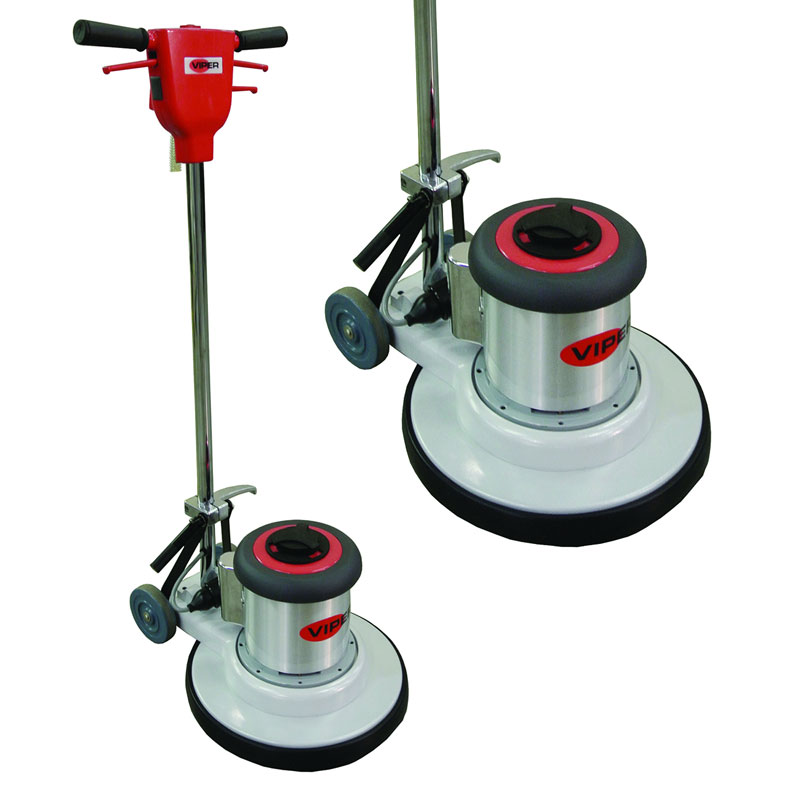 Venom 175 rpm floor buffer 17 cleaning path viper for 13 inch floor buffer