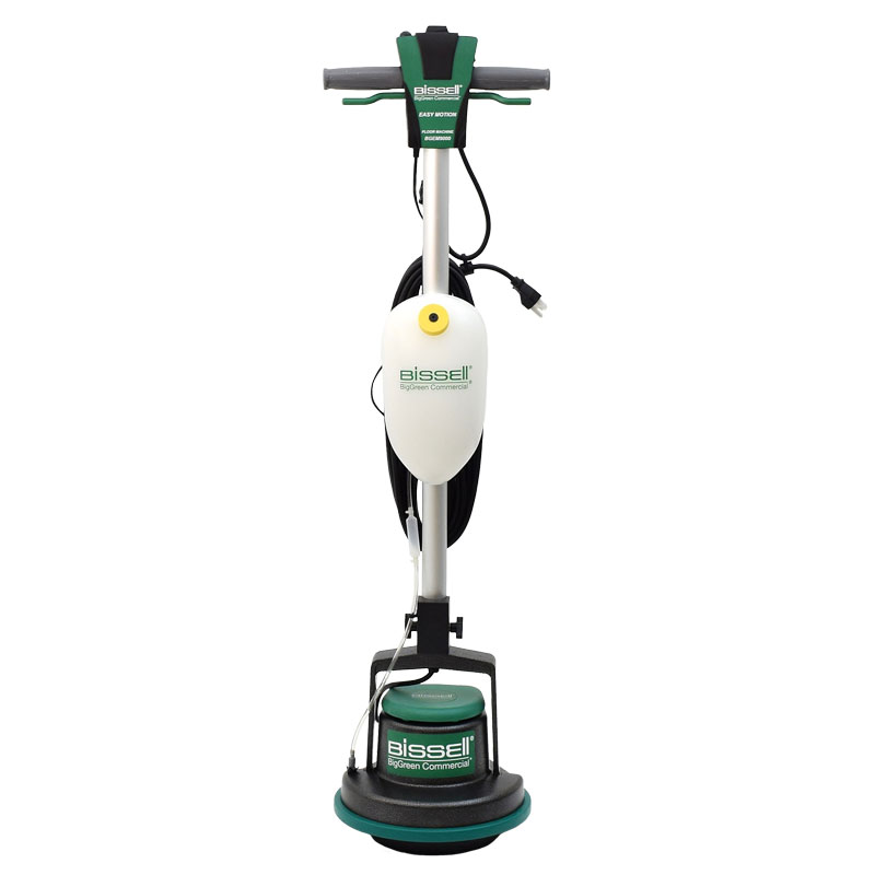 Biggreen easy motion orbital floor machine w solution for Floor cleaning machine