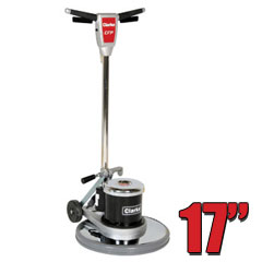 Clarke CFP 170 Floor Buffer Polisher Machine - 17 Inch Pad