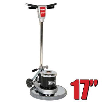 Clarke cfp 1700 floor buffer polisher machine 17 inch for 17 floor buffer pads