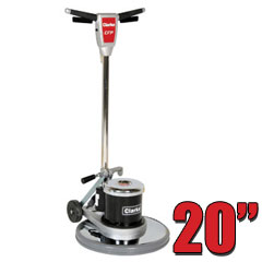 Clarke CFP 2000 Floor Buffer Polisher Machine - 20 Inch Pad CLK-01400A