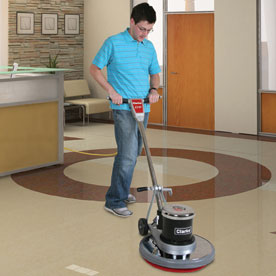 Clarke CFP 2000 Floor Buffer Polisher Machine - 20 Inch Pad