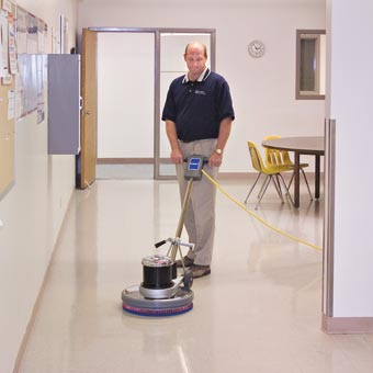 Kent Euroclean SelectLine® 17HD Low Speed Floor Machine - 175 RPM - 17