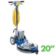 "Mastercraft MBS-2000EF High Speed Floor Burnisher - 20"" Pad"