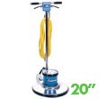 "Mastercraft MD-20E Low Speed Floor Machine - 20"" Brush"