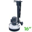"Mastercraft MTHC-16 LR Low Speed Multi-Purpose Dry Floor Machine - 16"" Bowl"