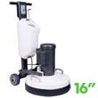 "Mastercraft MTHC-16E DLX High Speed Multi-Purpose Concrete/Wood Floor Restoring Machine - 16"" Bowl"