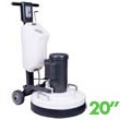 "Mastercraft MTHC-20J DLX High Speed Multi-Purpose Concrete/Wood Floor Restoring Machine - 20"" Bowl"