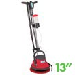 "Mastercraft Cleanfix [25311] Low Speed FloorMac Oscillating Floor Machine - 13"" Brush MC-253111"