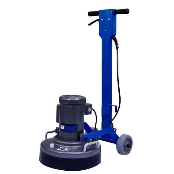 Onfloor of16s l low speed surfacing floor machine unoclean for Concrete cleaning machine
