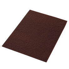 "Maroon EcoPrep Chemical-Free Stripping Pad - (10) 14"" x 20"" AMCO-42071420"