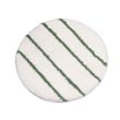 "Rubbermaid [P267] P4 Series Low Profile Carpet Rotary Yarn Bonnet w/ Green Scrub Strips - 17"" Diameter"