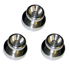 Floor Machine Pad Driver Metal Lugs - Tall - Set of 3 - Malish L-800T
