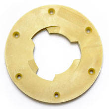 "Floor Machine Pad Driver Clutch Plate - 5"" Centerhole - Malish NP-46"