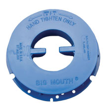 Malish [792455] BIG-MOUTH® Floor Machine Pad Centering Device - Blue - RH Thread - Full Set