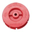 Malish [792405] CENTER-LOK® II Floor Machine Pad Centering Device - Red - LH Thread - Full Set