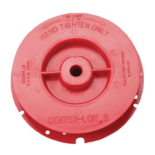 CENTER-LOK II Pad Centering Device - Red - LH Thread - Full Set