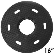 "Malish [786716] Floor Machine MIGHTY-LOK® Polymeric Face Pad/Disc Driver - Solid Block - 16"" Dia."