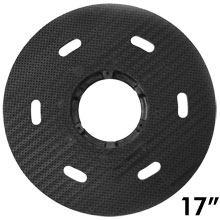 "Malish [786717] Floor Machine MIGHTY-LOK® Polymeric Face Pad/Disc Driver - Solid Block - 17"" Dia."