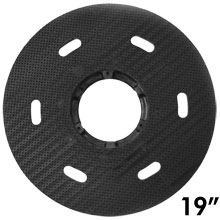 "Malish [786719] Floor Machine MIGHTY-LOK® Polymeric Face Pad/Disc Driver - Solid Block - 19"" Dia."
