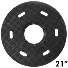 "Malish [786721] Floor Machine MIGHTY-LOK® Polymeric Face Pad/Disc Driver - Solid Block - 21"" Dia."