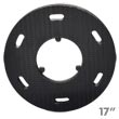 Malish [786757] Floor Machine SURE-LOK Polymeric Face Pad/Disc Driver