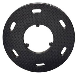 Malish [786758] Floor Machine SURE-LOK® Polymeric Face Pad/Disc Driver - Plastic Block - 18