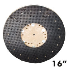 "16"" Dia. Orbo-Lok Sanding Screen Pad Driver w/ P-200 Clutch Plate"