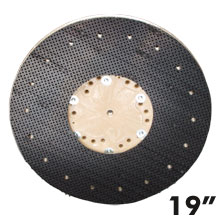 "19"" Dia. Orbo-Lok Sanding Screen Pad Driver w/ P-200 Clutch Plate"