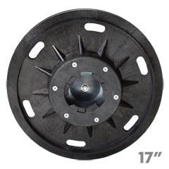 Malish 782017 floor machine economy sandpaper pad disc for 17 floor sanding disc