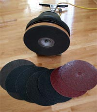 Malish Floor Machine Sandpaper Pad Drivers & Sanding Screen Drivers