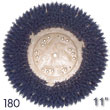"Malish [776511] TUFF-BLOCK® CLEAN-GRIT™ Floor Machine Grit Rotary Scrubbing Brush - Plastic Block - 180 Grit - 11"" Dia."