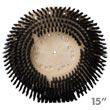 15 inch General Purpose Floor Machine Scrub Brush